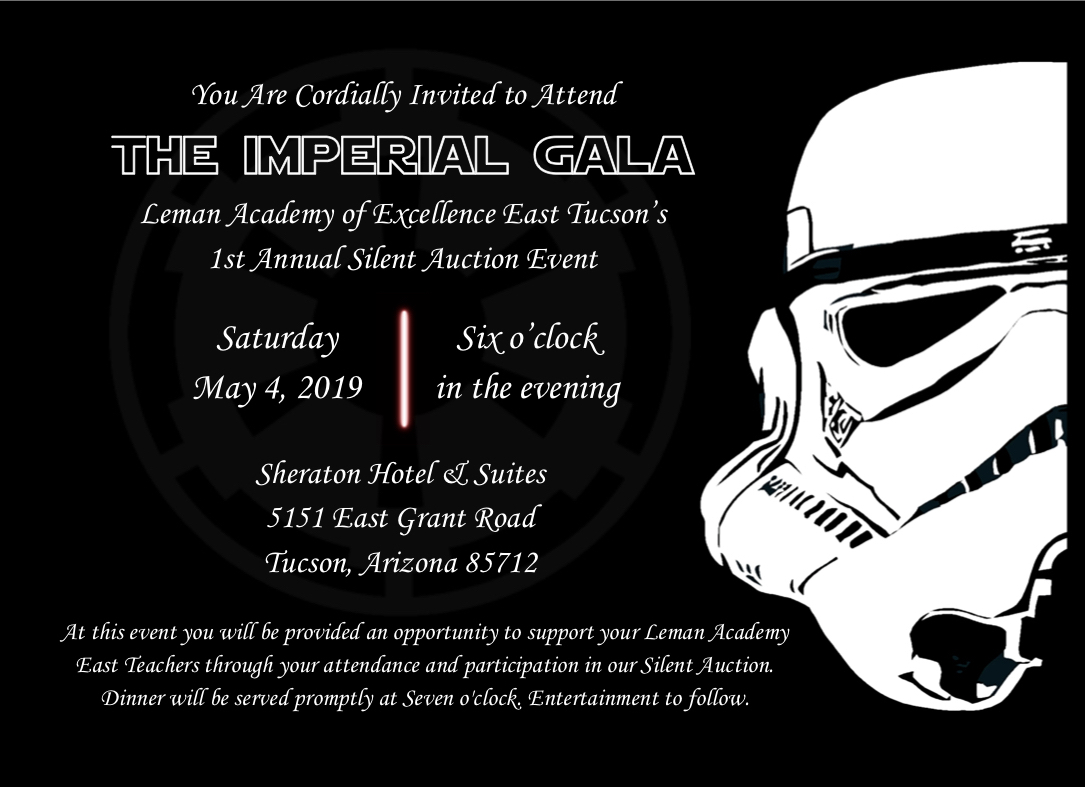 The Imperial Gala - East Tucson @ Sheraton Hotel & Suites