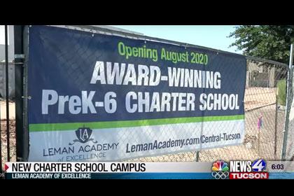 News 4 Tucson >> Leman Academy Of Excellence On News 4 Tucson Kvoa Charter